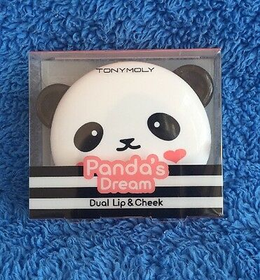 Tonymoly Panda's Dream Dual Lip And Cheek Tint - Pink Baby - MELB STOCK