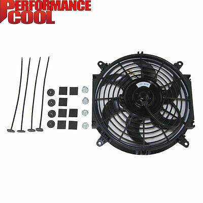 """Universal 10"""" inch 12V Radiator Engine Cooling thermo Fan + free Mounting kit"""