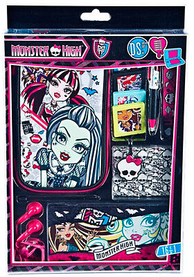 Accessory Kit Monster High 16 pcs for All Nintendo DS (3DS + XL / Dsi + XL)