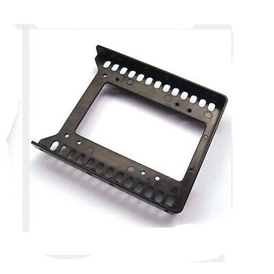"""Adapter 2.5"""" to 3.5"""" Hard Drive Double plastic Bracket HDD Holder Mounting SSD"""