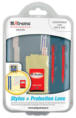 Nintendo 2DS Stylus + Protection Lens Accessory XTREME INFORMATICA