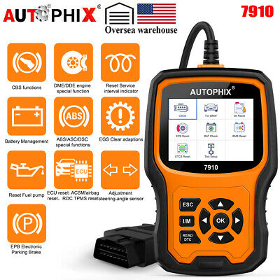DHL Foxwell NT630 ABS Airbag SRS Reset OBD2 Trouble Code Diagnostic Engine Check