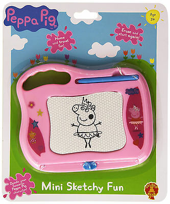 Peppa Pig Mini Sketchy Fun - Brand New Fast Postage