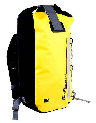 Overboard Classic 20L Yellow Waterproof Backpack Rucksack Motorcycle Biker