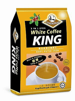 Chek Hup Ipoh White Coffee 3 In 1 KING 'RICH & STRONG' Flavour