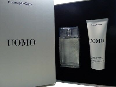 Ermenegildo Zegna Uomo EdT Spray 50 ml + Shower Gel 100 ml