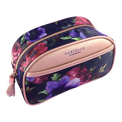 Midnight Poppies Cosmetic Beauty Bag - Jewellery - Roll - Vanity - Travel - Wash