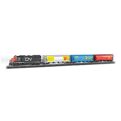 Bachmann Trains Canadian Harvest Express Electric Train Set, HO Scale | 735-BT