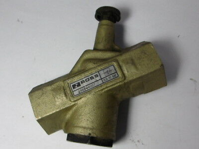 Ross 1968B4007 Flow Control Valve 1/2 Inch ! WOW !