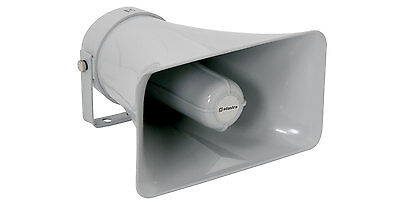 Heavy Duty Large Rectangular PA Horn Speaker 8 Ohms  Public Address