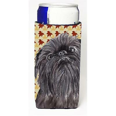 Brussels Griffon Fall Leaves Michelob Ultra bottle sleeve for Slim Can