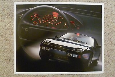 1986 Porsche 928 Coupe Showroom Advertising Sales Poster RARE!! Small Size L@@K