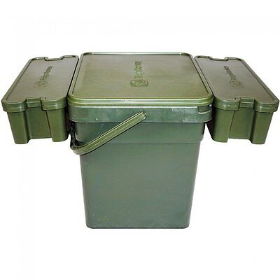 Ridgemonkey NEW Carp Fishing Ridge Monkey Modular Bait Bucket Standard - RMMBS