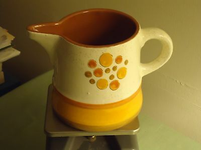 Stangl Sun Pebbles Milk Pitcher (4 Inches High)