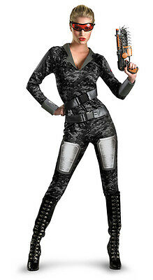 Operation Rapid Strike Red Sector womens adult deluxe costume
