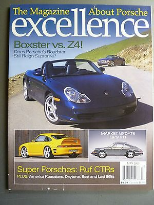 "2003 Porsche Excellence Magazine #119 May 2003 ""Boxster vs. Z4"""