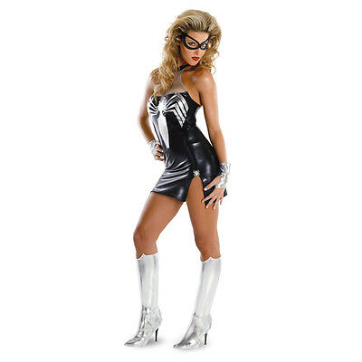 Black-Suited Spider-Girl sassy deluxe adult costume