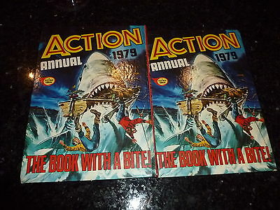 ACTION Annual - Year 1979 - UK Comic Annual ( Price Tab intact )