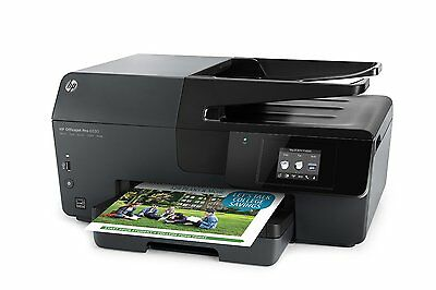 HP Officejet Pro 6830 Color e-All-in-One Photo Printer Copier, Scan, Fax W/ Ink