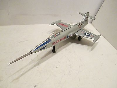 F-104 Starfighter With Sparking Engine Excellent Condition Made In Japan Frictio