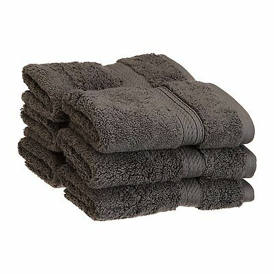 Superior 900GSM FACE CL Egyptian Cotton 900GSM Wash Cloth (Set of 6)