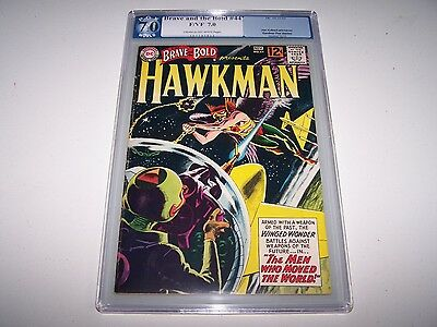 Brave and the Bold #44 PGX 7.0 (Like CGC/CBCS) ~ *6th Appearance of Hawkman!!*