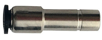 """5/32"""" OD x 1/4"""" OD Tube Expander Push to Connect One Touch Air Fitting Brass NP"""
