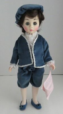 "Madame Alexander 12"" Blue Boy Doll - With Damage                   (Inv11218)"
