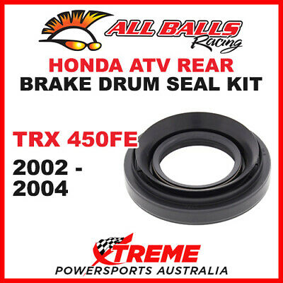 30-7602 Honda Atv Trx450Fe Trx 450Fe 2002-2004 Rear Brake Drum Seal Kit
