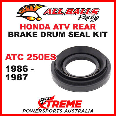 30-6701 Honda Atv Atc250Es Atc 250Es 1986-1987 Rear Brake Drum Seal Kit