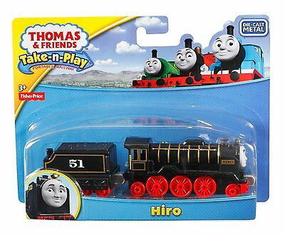 Fisher Price - Thomas & Friends Take n Play - Die-Cast - Hiro -Brand New