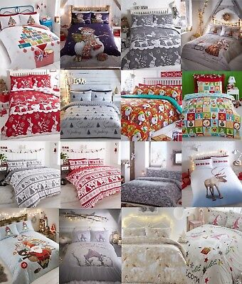 Christmas - Festive Quilt/Duvet Covers & Bedding Sets For All The Family Wow!!