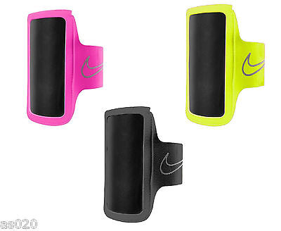 Nike Lightweight Smartphone Phone Arm Band 2.0  Running Gym Sports Black & Pink