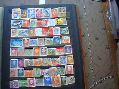 PAYS-BAS - 58 timbres obliteres (tout etat) stamp netherlands