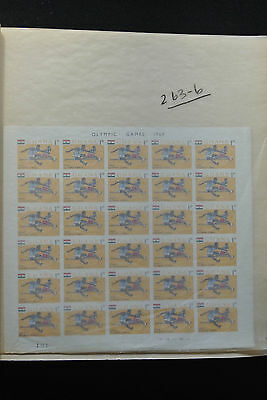 Lot 25906 Collection imperforated stamps of Ghana 1964-1978.