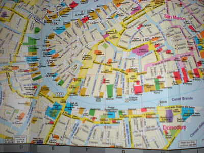 Map of Venice, Italy, by Red Maps, street map