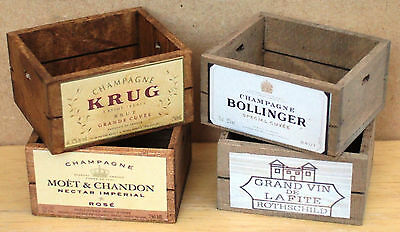 12th scale Champagne crates