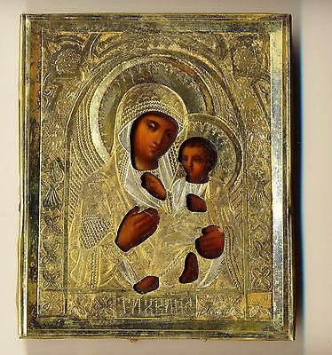 Russian  Imperial Antique Icon (#2165)