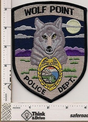 Wolf Point Police.Montana.