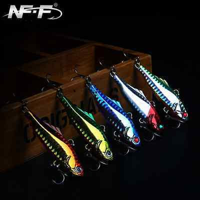 New Fishing Lure VIB Crankbaits Hooks Minnow Hard Baits Tackle 7cm/22g