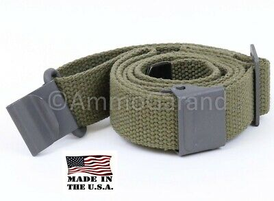 Sling OD Cotton Web for M1 Garand New fits Rifles Shotguns 2-Point Style US Made