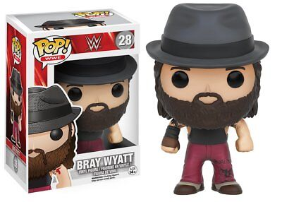 Funko Pop WWE - Bray Wyatt Vinyl Wrestling Action Figure 28 Collectible Toy 9268