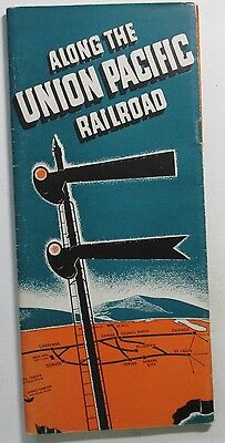 Union Pacific Railroad 1941 Brochure -  Along the Way Brochure - All Routes