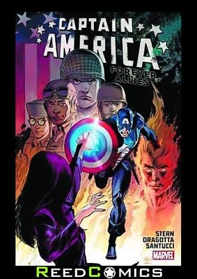 CAPTAIN AMERICA FOREVER ALLIES HARDCOVER Hardback Collects 4 Part Series + more