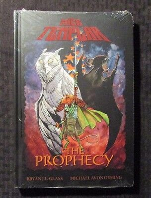 2008 MICE TEMPLAR The Prophecy v.1 Bryan Glass & Michael Avon Oeming HC Sealed