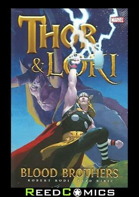 THOR AND LOKI BLOOD BROTHERS HARDCOVER New Hardback Collects LOKI #1-4 and more