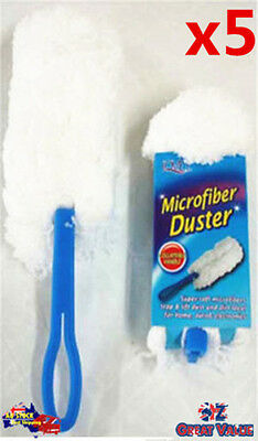 5pcs Microfiber Duster Connect and Clean Locking System (H2110x5)