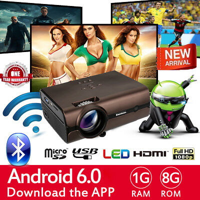 UC28+ Mini LED/LCD Proyector VGA/USB/SD/AV/HDMI Home Teatro PS4 PC Projector ES