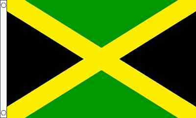 Jamaica 3ft x2ft (90cm x 60cm) Flag