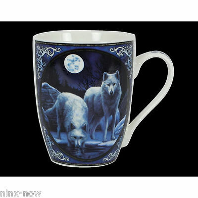 Wolves Warriors of Winter Mug by Lisa Parker Fine China Collectable in Gift Box